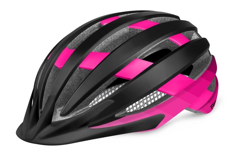 R2 - helma VENTU růžová/černá