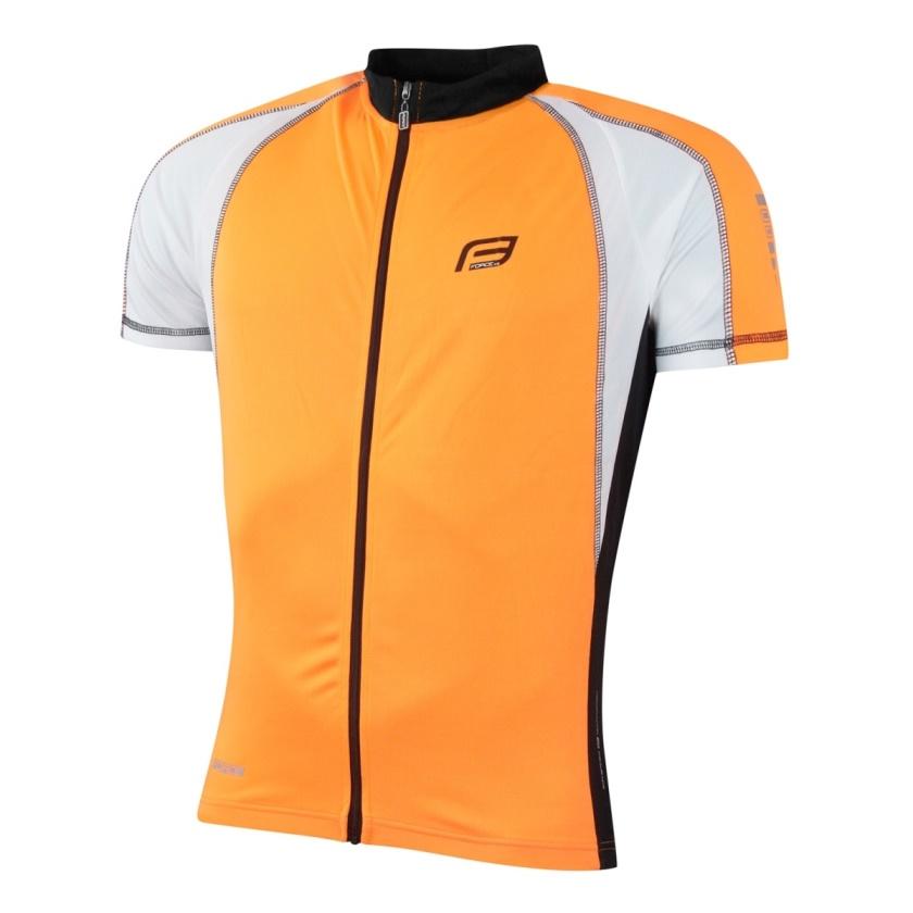 FORCE - dres  T10 krátký rukáv, oranžovo-bílý