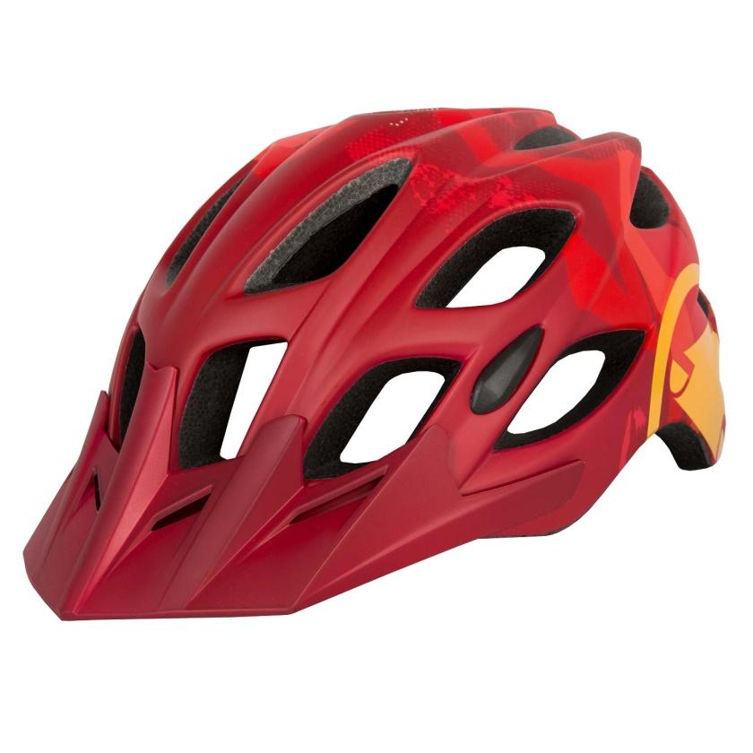 ENDURA - Hummvee Helmet red