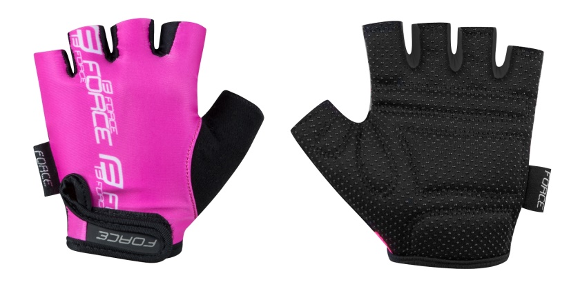 FORCE - rukavice  KID dětské, růžové