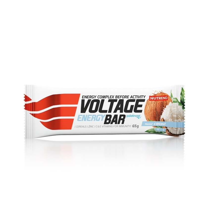 NUTREND - VOLTAGE ENERGY BAR 65g kokos