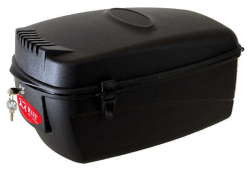 M-WAVE - box na nosič plastový, 17l, se zámkem