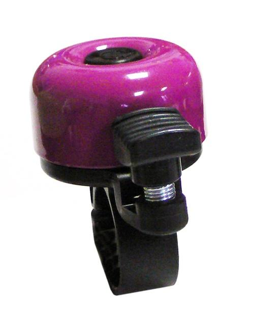 VELOBEL - zvonek mini fialový