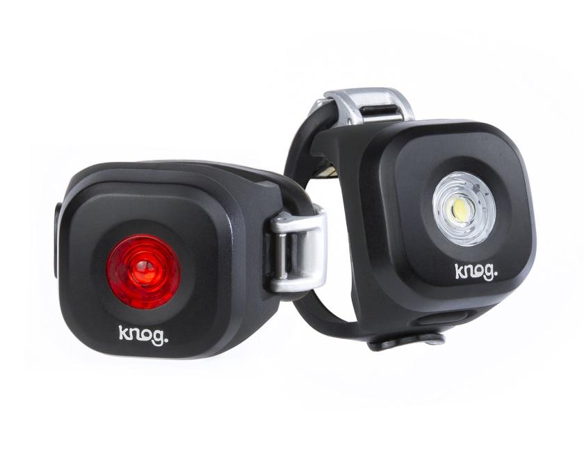KNOG - set přední a zadní světlo - Blinder MINI Dot Twinpack