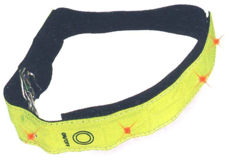 MAX1 - páska reflexní  blikací 4 LED