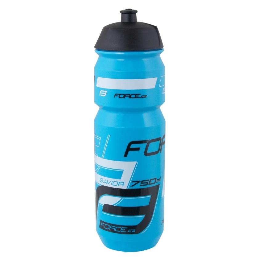 FORCE - láhev  SAVIOR 0,75 l, modro-bílo-černá