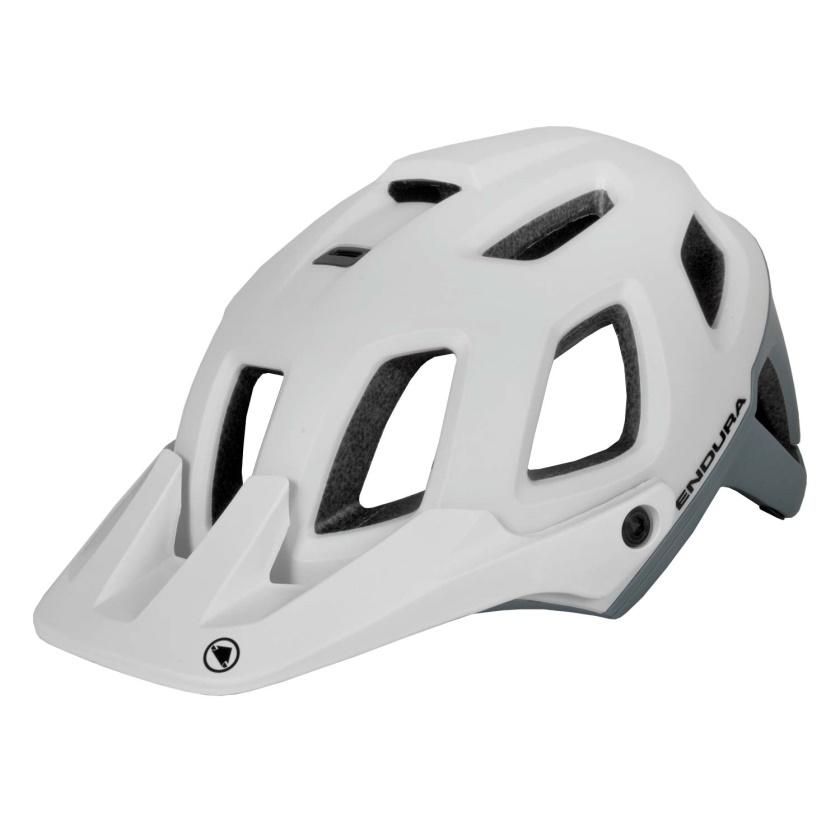 ENDURA - helma SingleTrack II bílá