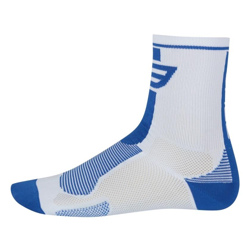 FORCE - ponožky  LONG, bílo-modré