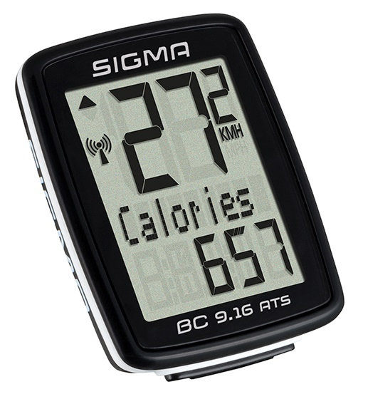 SIGMA - bezdrátový cyklo computer BC 9.16 ATS