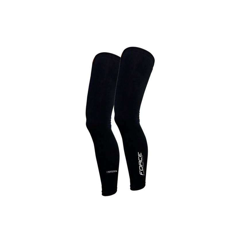 FORCE - návleky na nohy TERM dlouhé, černé