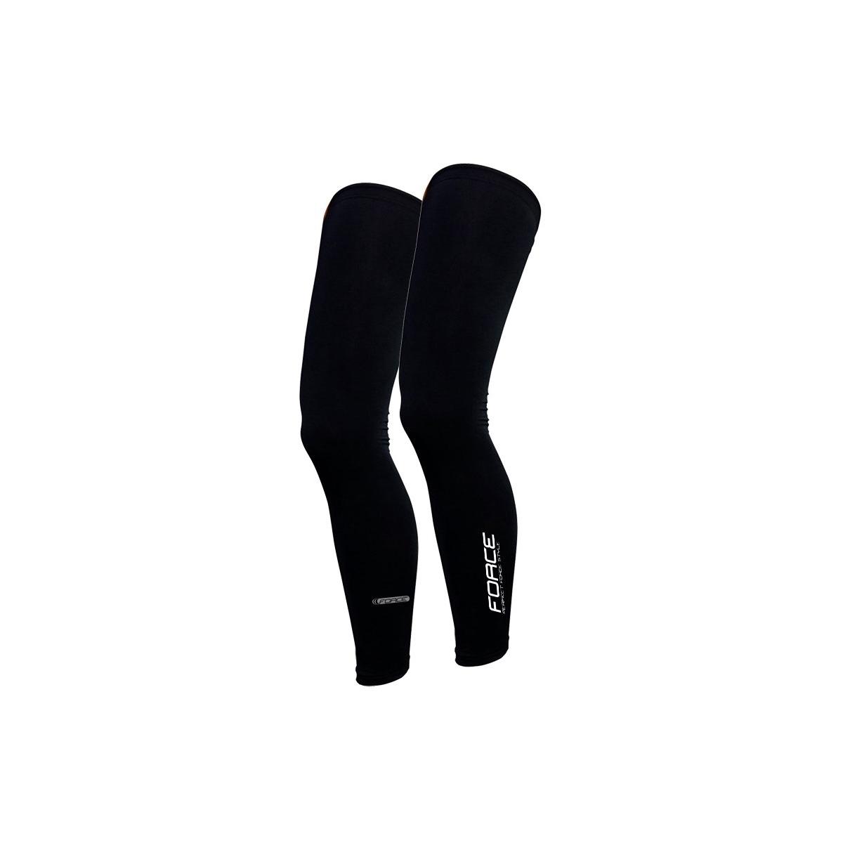 Force návleky na nohy Term dlouhé, černé XL