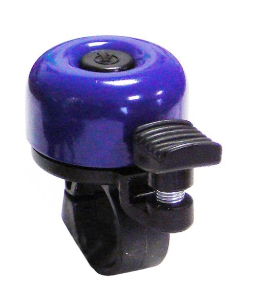 VELOBEL - zvonek mini tm.modrý