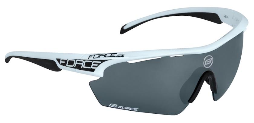 FORCE - brýle  AEON, bílo-černé, černé laser skla