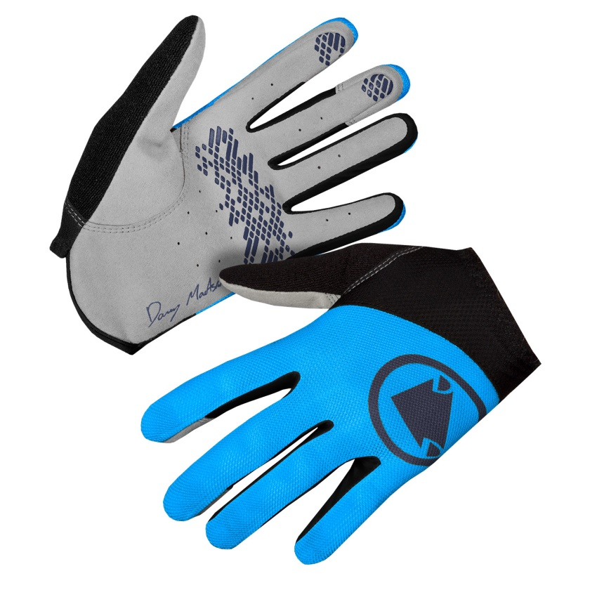 ENDURA - Hummvee Lite Icon Glove LTD electric blue