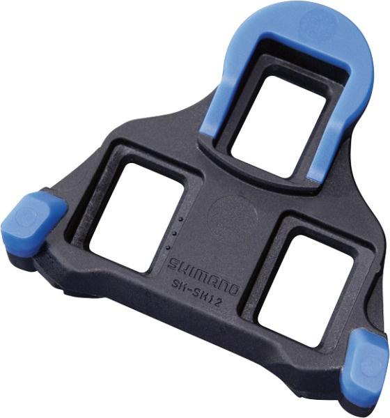 SHIMANO - zarážky SM-SH12, výkyv 2 st, modré, 1 pár