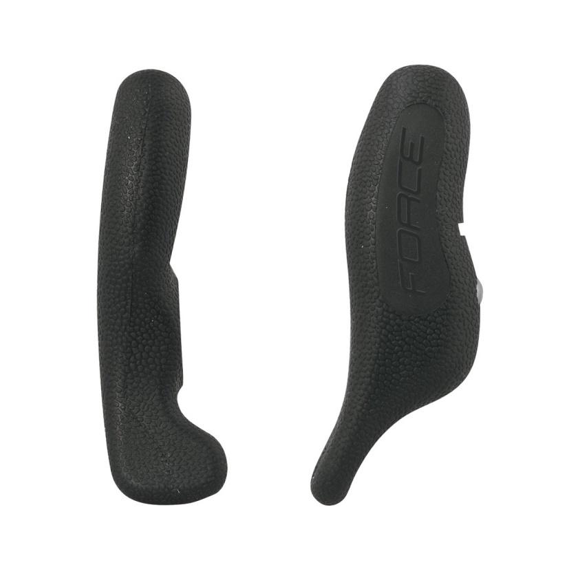 FORCE - rohy  RAB Al 12 cm AL+guma, černé