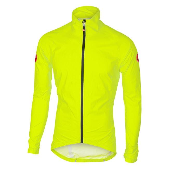CASTELLI - bunda Emergency Rain yellow fluo