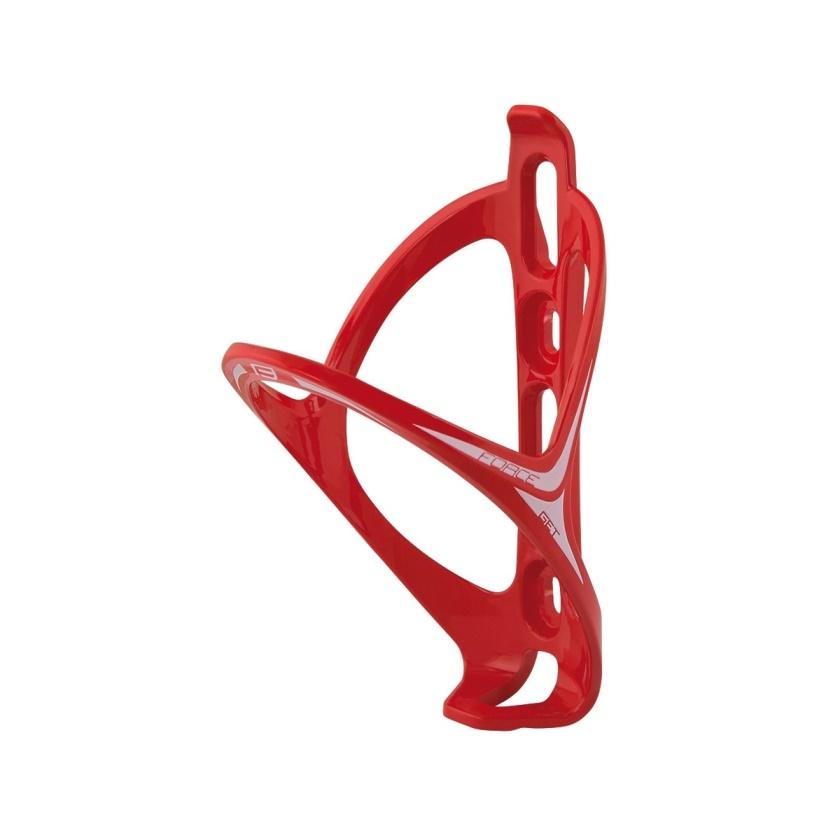 FORCE - košík láhve  GET plastový, červený lesklý
