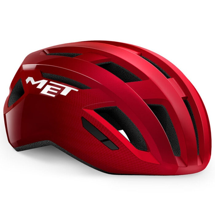 MET - helma VINCI MIPS červená MET -alická lesklá