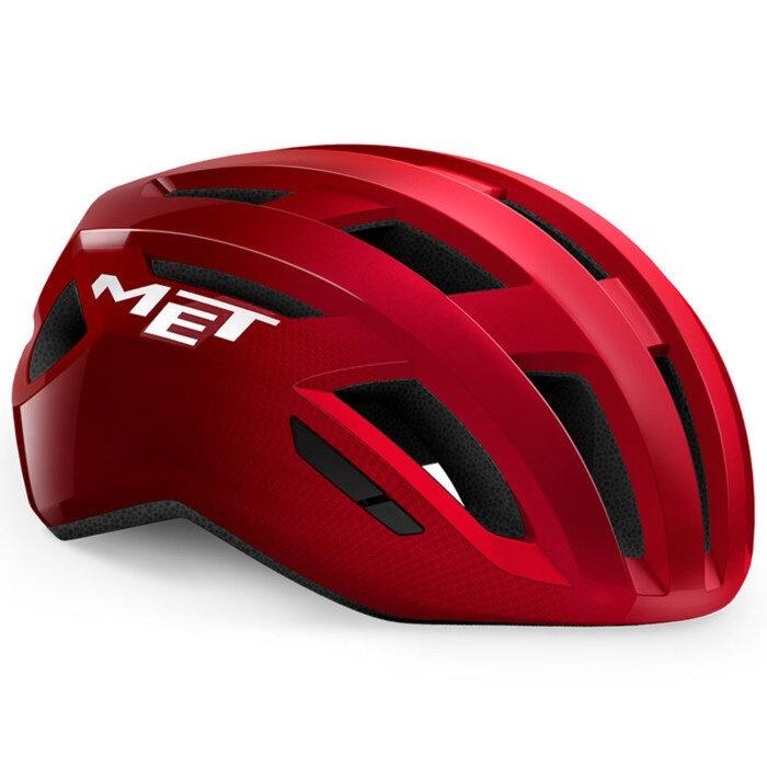 MET - helma VINCI MIPS červená metalická lesklá
