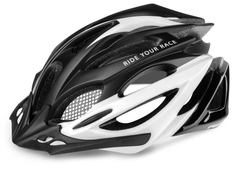 R2 - helma PRO-TEC černá/bílá