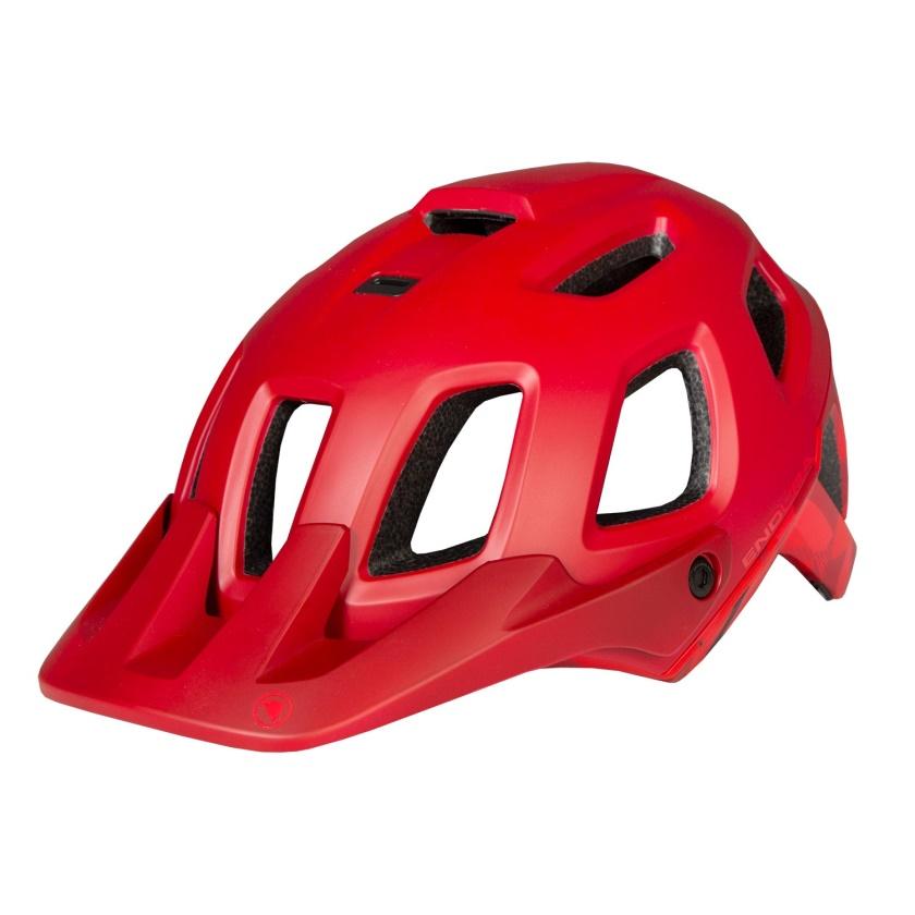 ENDURA - SingleTrack Helmet II rust red