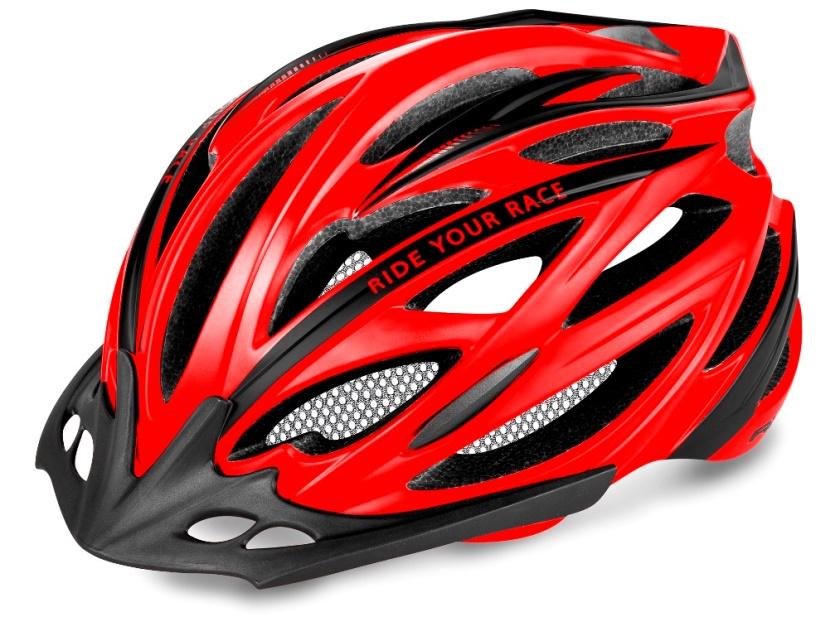 R2 - helma ARROW neon-červená