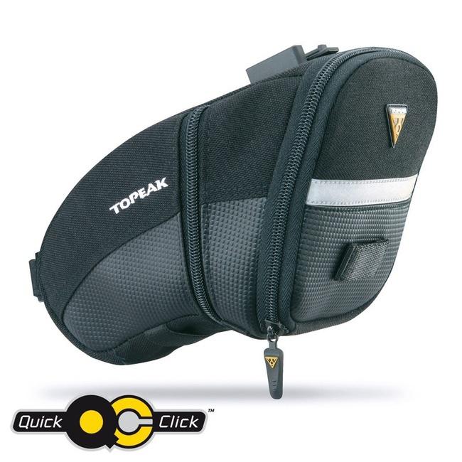 TOPEAK brašna podsedlová AERO WEDGE PACK Large s QuickClick
