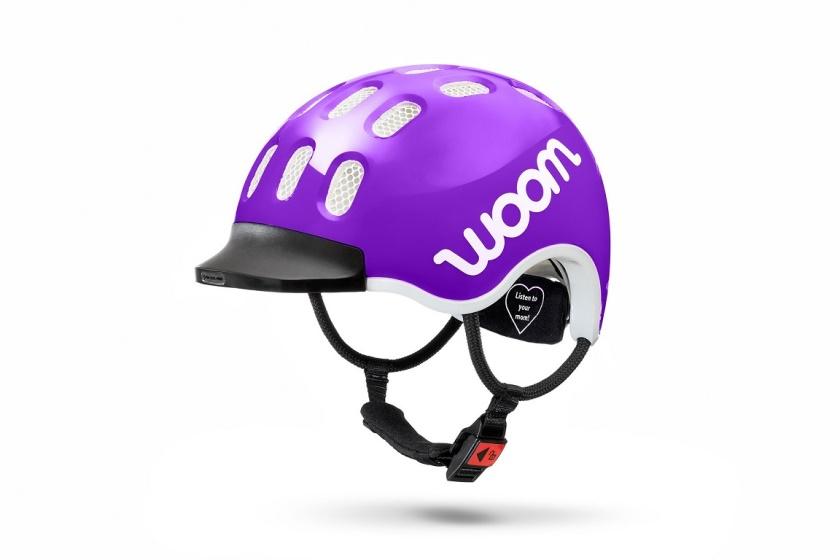 WOOM - dětská helma PURPLE 2020
