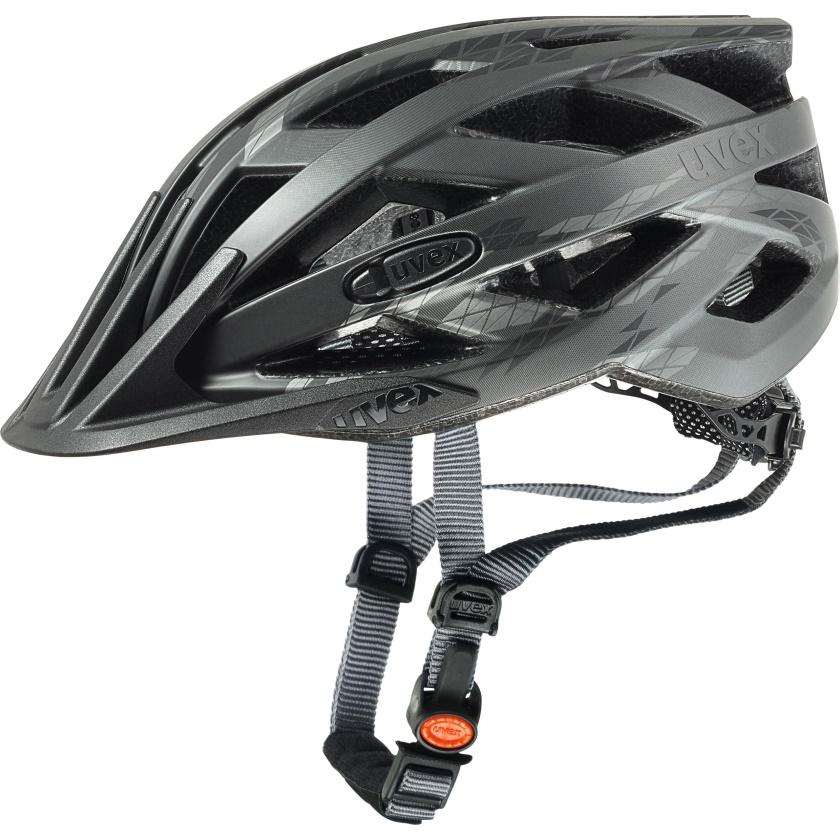 UVEX - helma I-VO CC BLACK SMOKE MAT