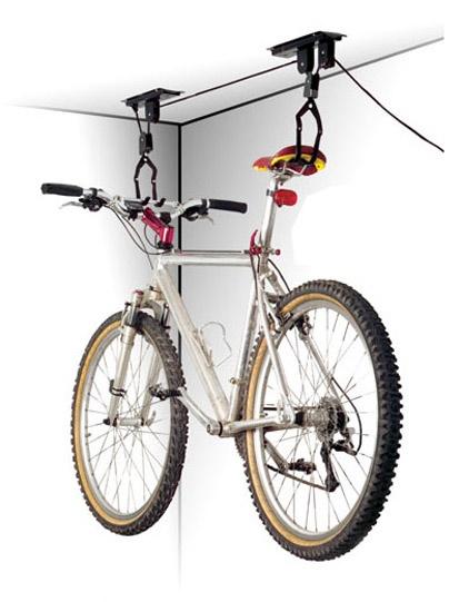 MAX1 - držák kola na strop kladkový