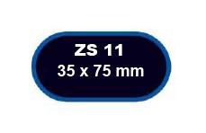 FERDUS - záplaty ZS 11 75x35mm balení 5ks