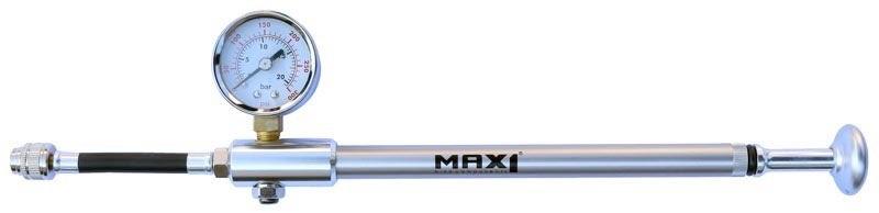 MAX1 - hustilka Shock s manometrem