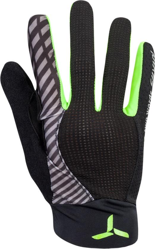 SILVINI - cyklo rukavice celoprsté TEAM black-green