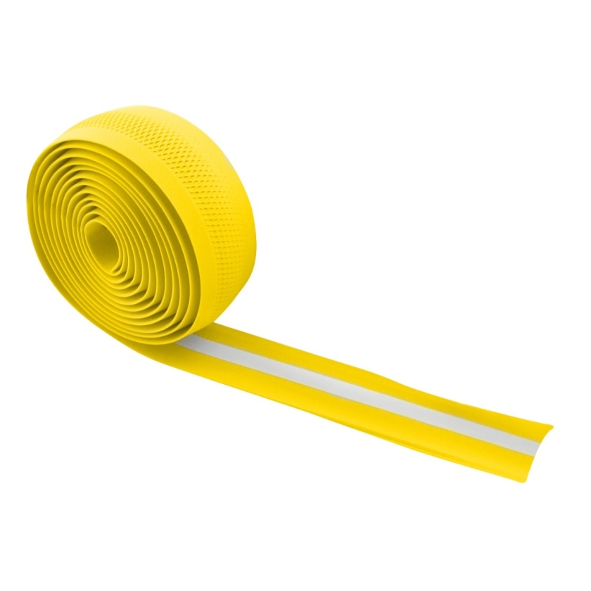 FORCE - omotávka  EVA perforovaná, žlutá