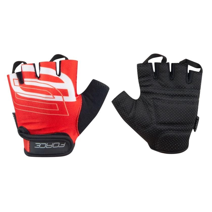FORCE - rukavice  SPORT, červené