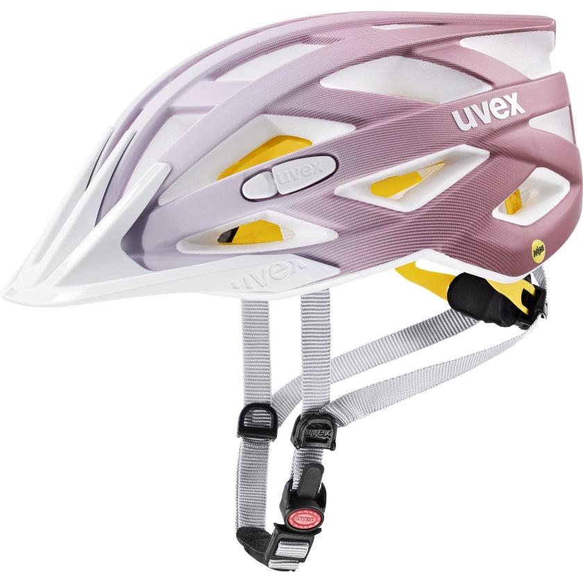 UVEX - helma I-VO CC MIPS WHITE - ROSÉ MAT