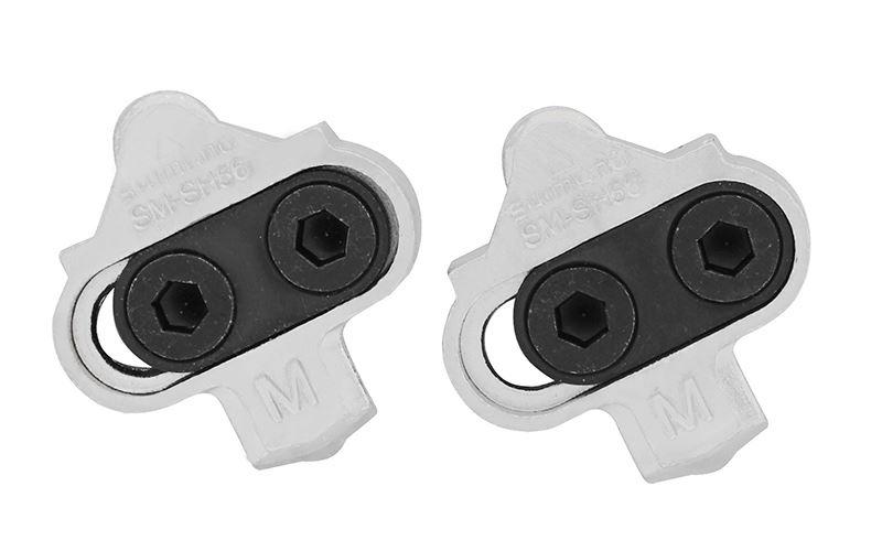 Shimano zarážky SM-Sh56 stříbrné Shimano Zarážky Spd SM-Sh56
