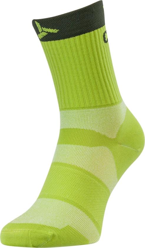 SILVINI - Ponožky cyklistické Orato lime-olive