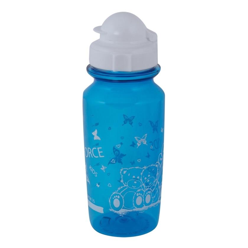 FORCE - láhev  BEAR 0,5 l školní, modrá