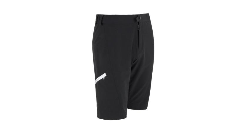 SENSOR - kalhoty krátké volné CYKLO HELIUM černá/bílá