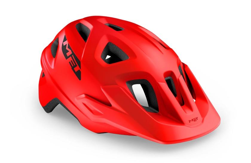 MET - helma ECHO červená matná