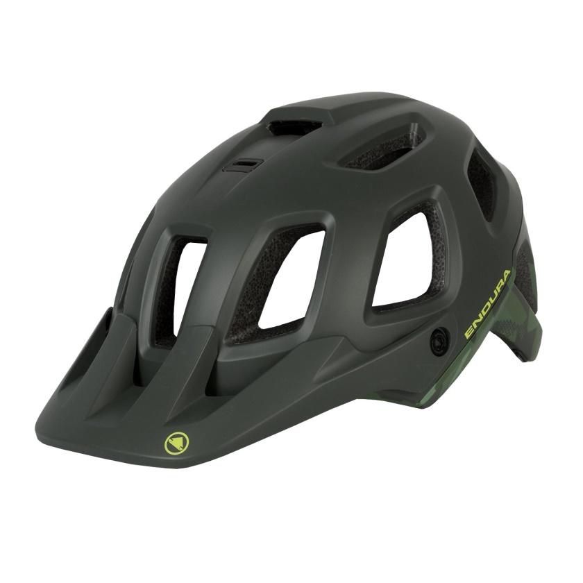 ENDURA - SingleTrack Helmet II khaki