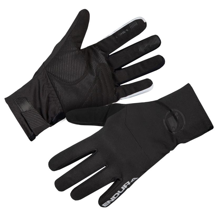 ENDURA - zimní voděodolné rukavice Deluge černá