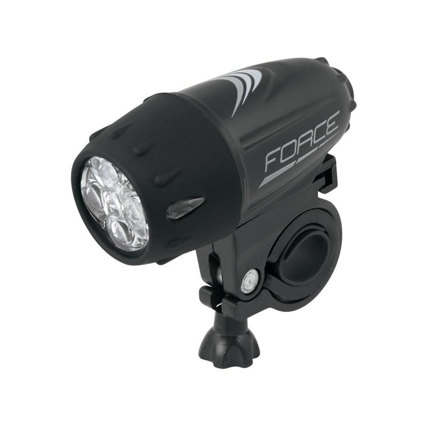 FORCE - světlo přední  RANK 5 diod + baterie