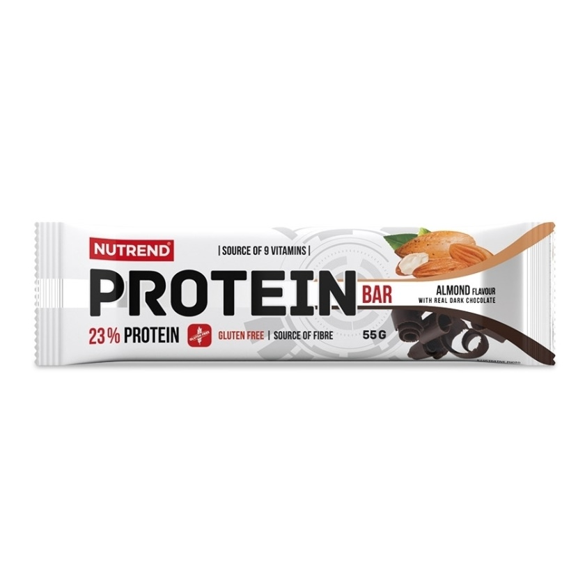 NUTREND - PROTEIN BAR 55 g mandle