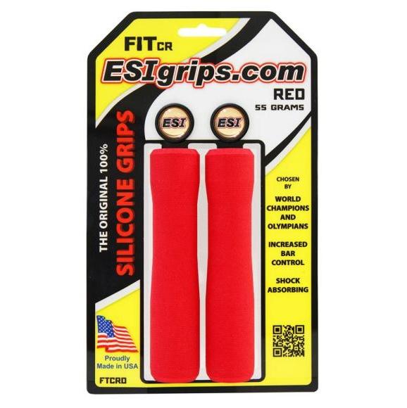 ESI GRIPS Gripy FIT CR Ergo, 55g - červená