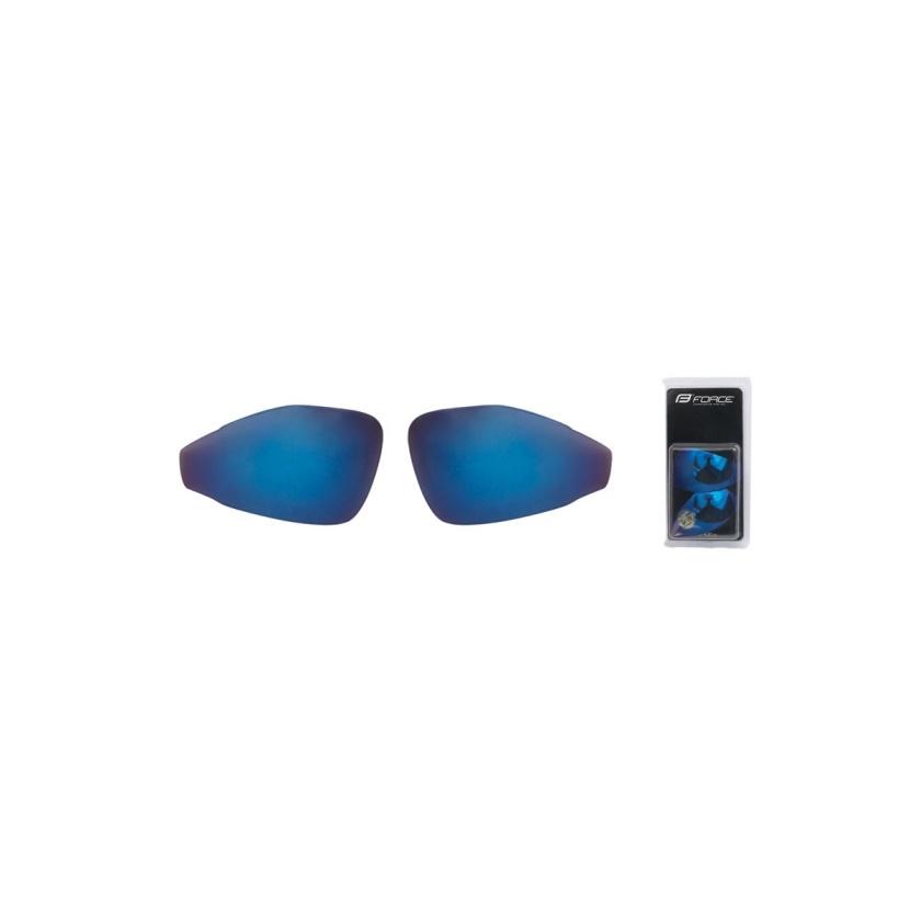 FORCE - skla náhradní PRO pár, modrá laser
