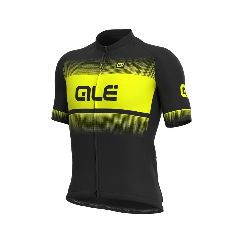 ALÉ - dres SOLID BLEND black-fluo yellow