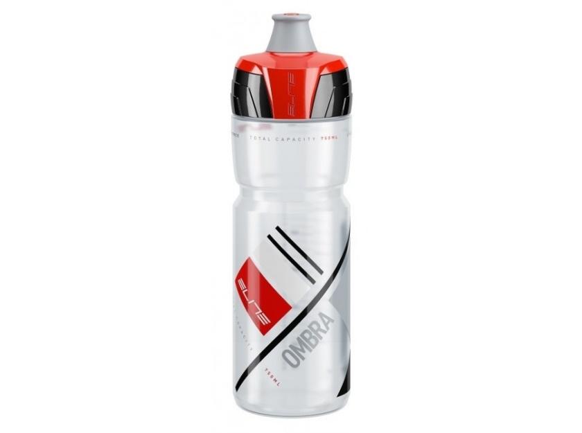 ELITE - láhev CRYSTAL OMBRA, čirá/červená 750ml